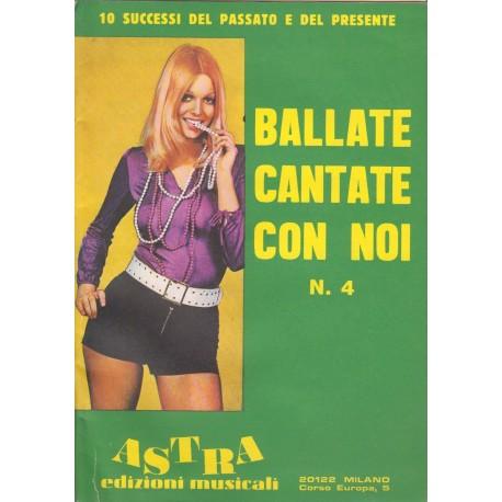 BALLATE CANTATE CON NOI - Vol. 4 - Mignoli e Santeoli