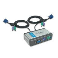 SWITCH KVM 2K A DUE PORTE D-LINK
