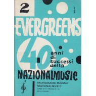 Evergreens 40 anni di successi NATIONALMUSIC (Vol.2) Raccolta di 50 brani