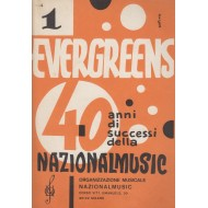 Evergreens 40 anni di successi NATIONALMUSIC (Vol.1) Raccolta di 50 brani