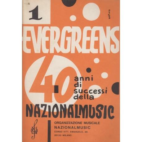 Evergreens 40 anni di successi NATIONALMUSIC (Vol.1) Raccolta di 50 brani