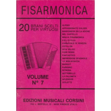 Raccolta di 20 Brani classici Virtuoso della FISARMONICA: leggi l'elenco !