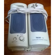 2 Casse multimediali da Pc YASU Y-26 4 WATT Rms