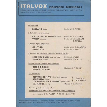 Raccolta spartiti GIGI STOCK: il Virtuoso del Liscio. 32 Brani celebri per Fisarmonica.