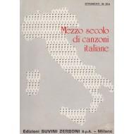 Raccolta MEZZO SECOLO DI CANZONI ITALIANE: oltre 180 spartiti, per oltre 600 pagine !!