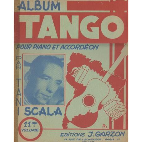 Album TANGO Vol.11 (per PIANO e FISARMONICA) - 11 Brani.