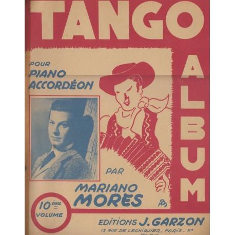 Album TANGO Vol.10 (per PIANO e FISARMONICA) - 12 Brani di MARIANO MORES
