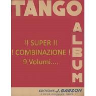 Super COMBINAZIONE di 9 Album TANGO, PIANO E FISARMONICA, AUTORI VARI