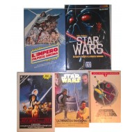 Raccolta di Fantascienza STAR WARS 5 Volumi