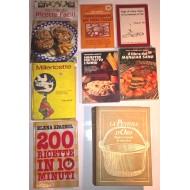 Raccolta di Volumi di Cucina e Ricette (12 volumi)