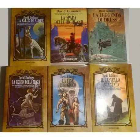 Fantasy: raccolte varie Editrice Nord o Fantacollana (27 Volumi ottimamente tenuti)
