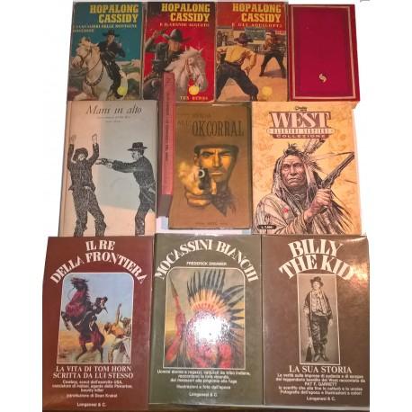 Western: raccolta di 11 volumi vari