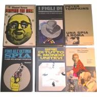 Gialli e Spionaggio: raccolta di 18 volumi vari (rilegati e ben tenuti)