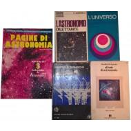 Raccolta di Astronomia (5 volumi)
