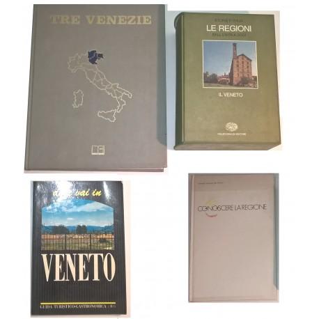 Veneto e Tre Venezie: 4 volumi