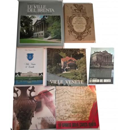 Riviera del Brenta e Ville Venete: 7 monografie.