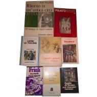 Prato, Toscana, Ostia, Friuli, Mantova, Bassano, Trento Cultura Locale varia (lotto di 8 volumi)